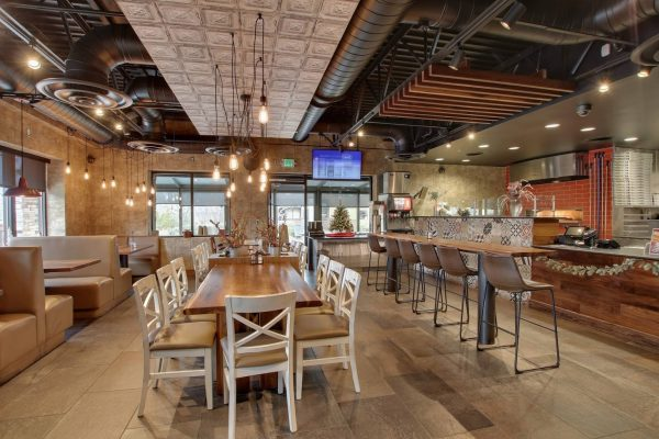 interior of Pats Select Pizza   Grill Italian Restaurant in Cockeysville, MD