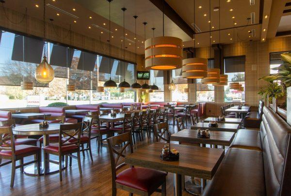 interior of Pats Select Pizza l Grill Italian Restaurant in Dover, DE