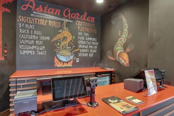 menu at Asian Garden restaurant in Cockeysville, MD