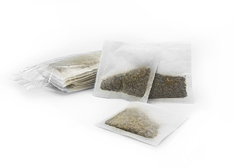 pillow clear pouch from Custom Co-Pak - Private Label Tea Bag Manufacturers in Philadelphia, PA