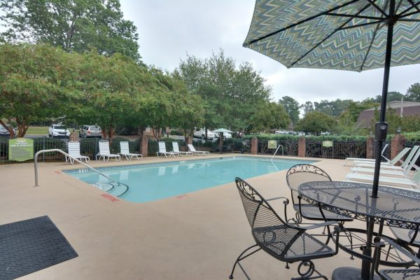 pool at Cross Creek Cove Apartments & Townhomes in Fayetteville, NC