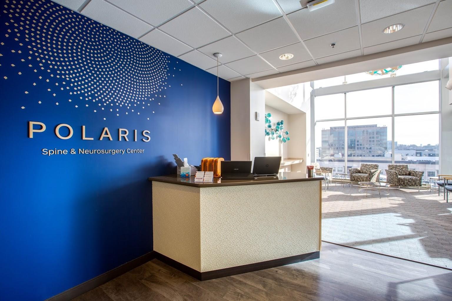 reception desk at Polaris Spine & Neurosurgery Center in Atlanta, GA