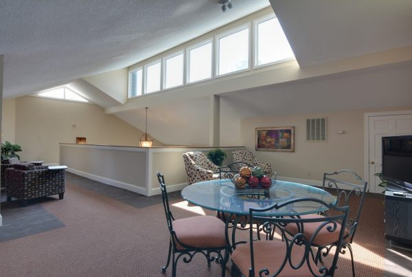 upper level of club house at Treybrooke at the Park, Apartment building in Cedar Fork, NC