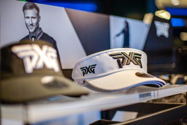 visor hat at Parsons Xtreme Golf store PXG in Atlanta, GA