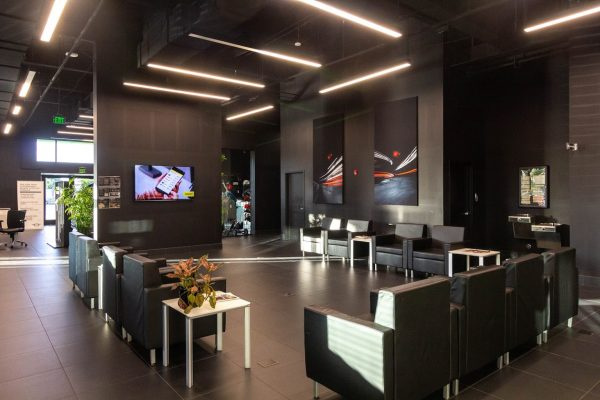 waiting room at Service Center - BMW of Fort Lauderdale, FL
