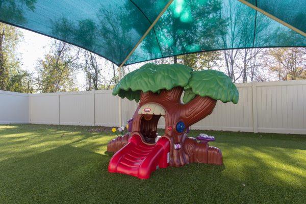 treehouse playground Lightbridge Academy Day Care in Edison, NJ