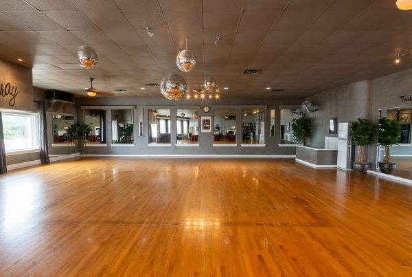 Ballroom Dance floor at Arthur Murray Dance Studio of Kansas City Lenexa KS