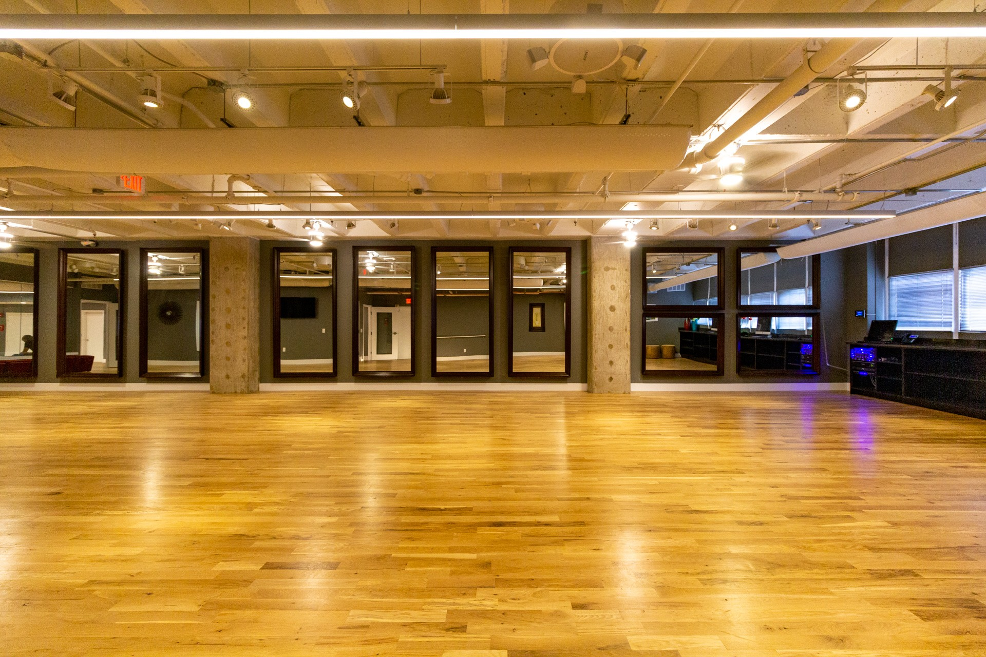 Ballroom floor at Arthur Murray Dance Studio of Philadelphia, PA
