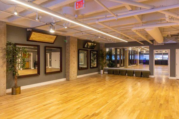 Dance room at Arthur Murray Dance Studio of Philadelphia, PA