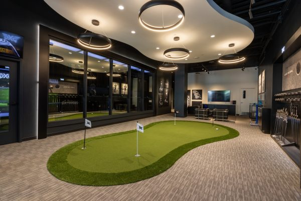Golf putting green at PXG Westgate Glendale, AZ