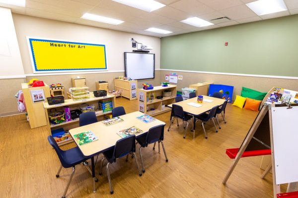 classroom in Lightbridge Academy Day Care in Elmsford, NY