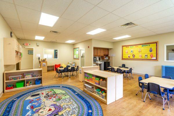 classroom in Lightbridge Academy Day Care in Plainsboro, NJ