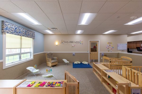 infant room at Lightbridge Academy Day Care in Willow Grove, PA