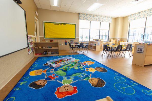 media room in Lightbridge Academy Daycare in Glenside, PA