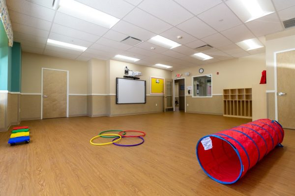 multi-purpose room in Lightbridge Academy Day Care in Elmsford, NY