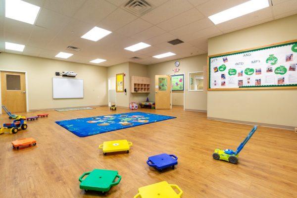 multi purpose room in Lightbridge Academy Day Care in Plainsboro, NJ