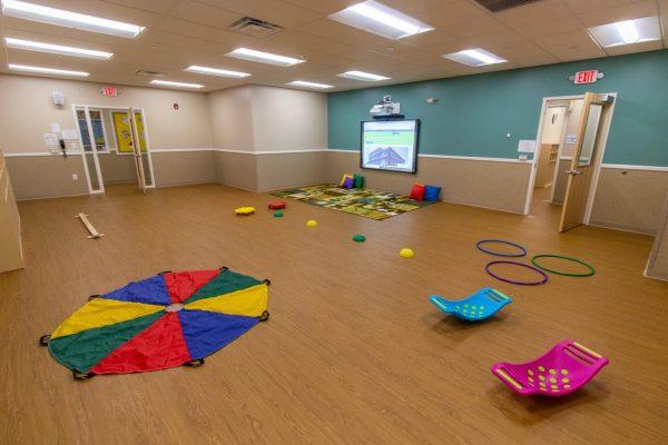 multipurpose room in Lightbridge Academy Daycare in Glenside, PA
