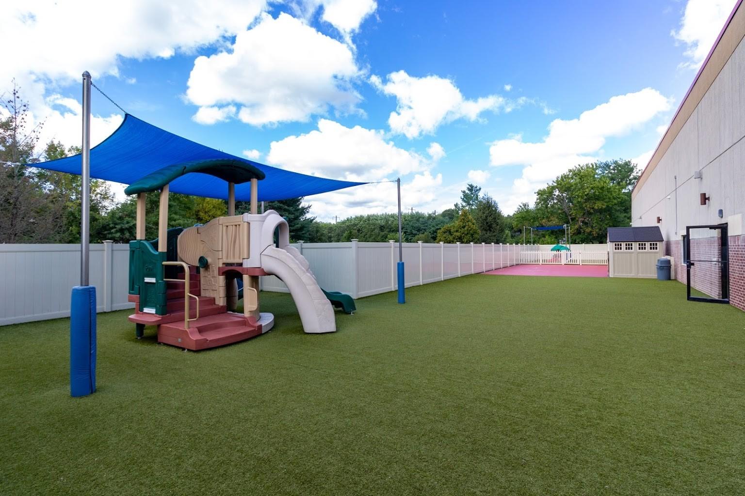 playground at Lightbridge Academy Day Care in Plainsboro, NJ