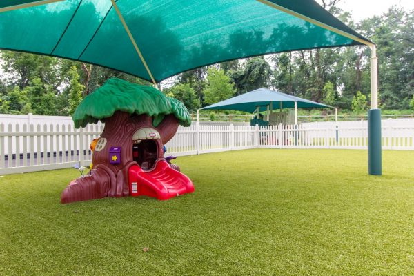 playground treehouse at Lightbridge Academy Day Care in Willow Grove, PA