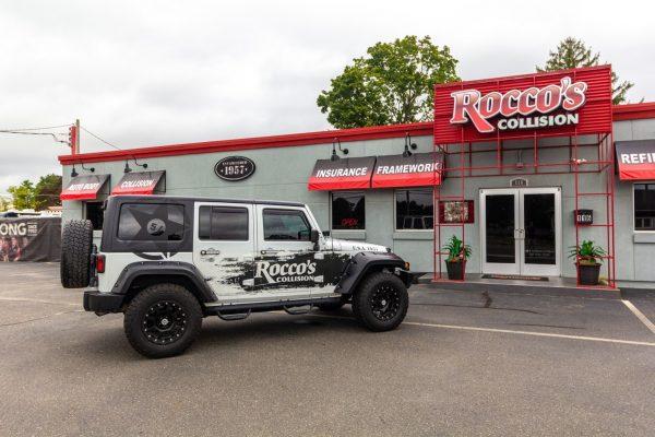 Jeep Wrangler Rocco's Collision Center Auto Body Shop in Berlin, NJ