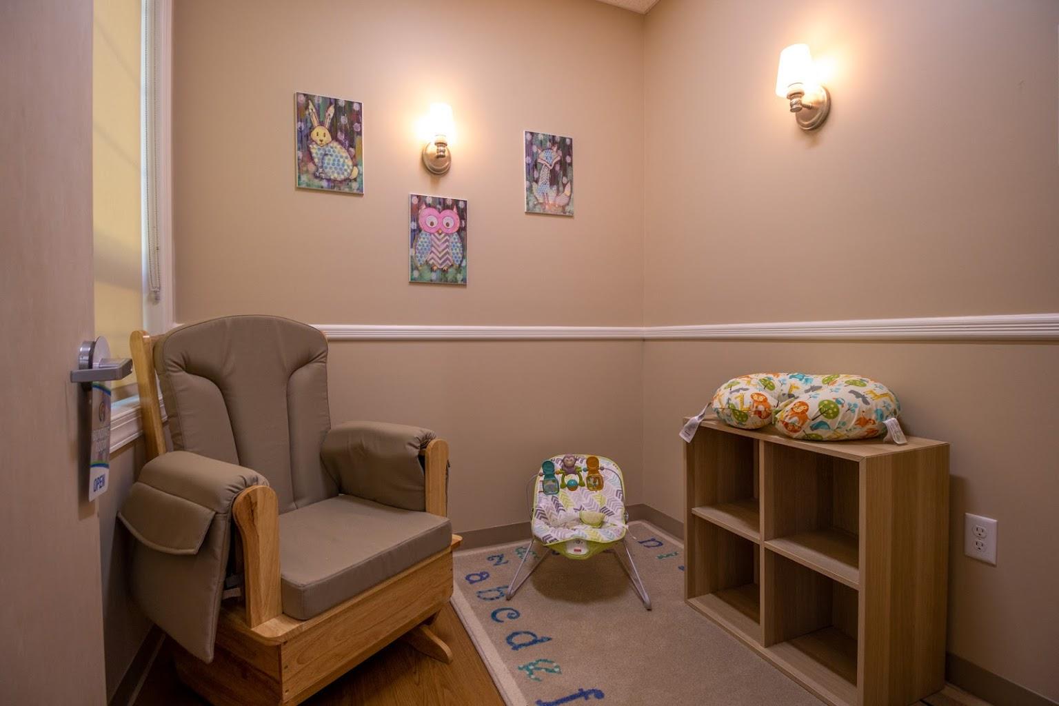 bonding room in Lightbridge Academy Day Care in South Brunswick, NJ
