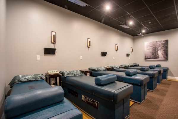 chiropractic tables at Crist Chiropractic in Franklin, TN