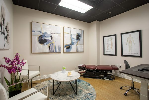 chiropractor office at Crist Chiropractic in Franklin, TN