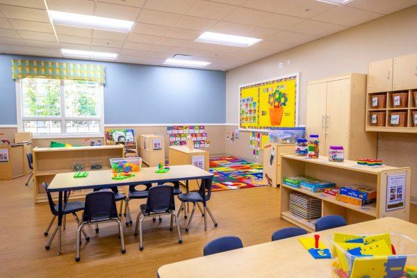 classroom at Lightbridge Academy Day Care in South Brunswick, NJ