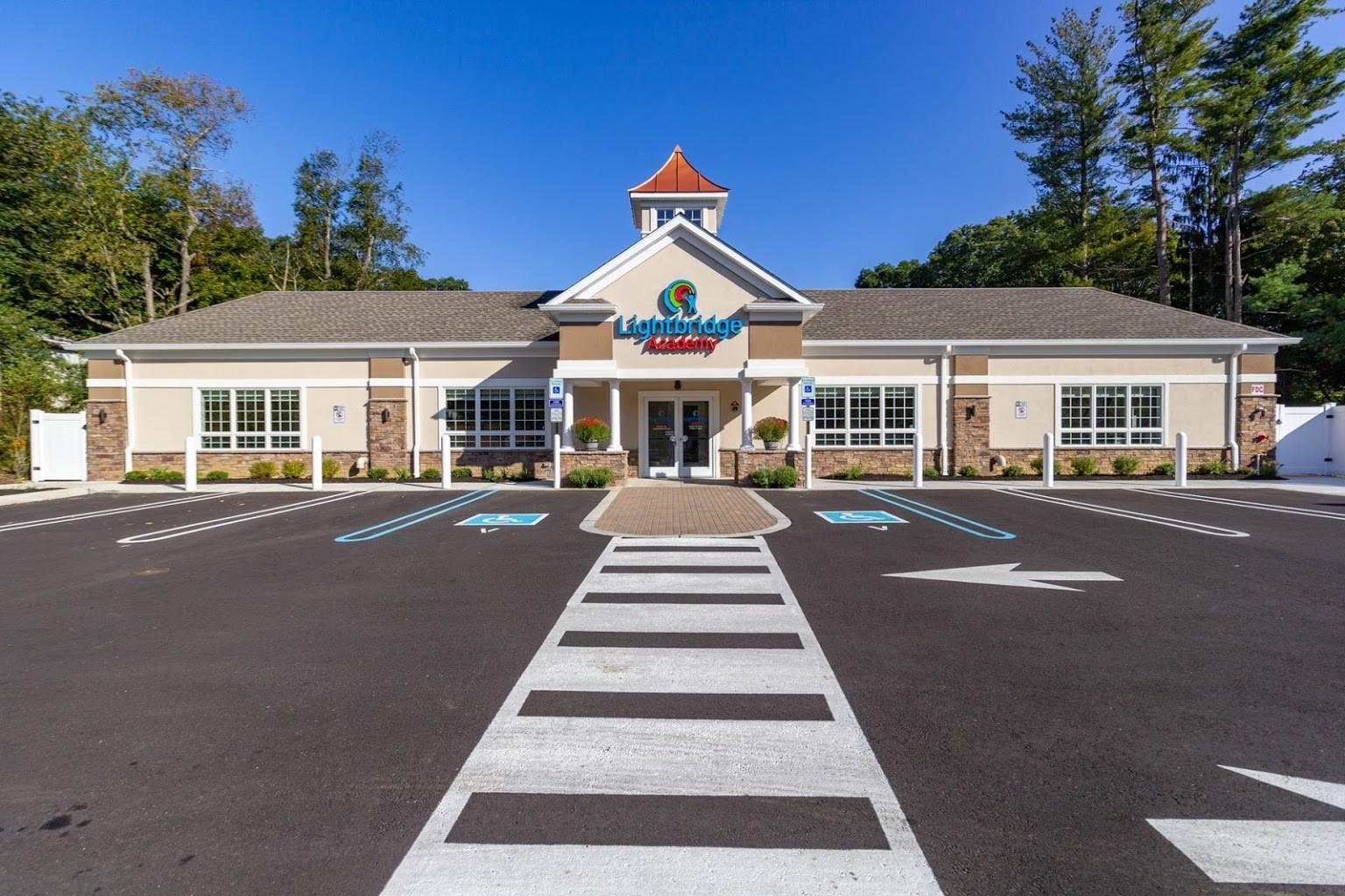 front exterior of Lightbridge Academy Day Care in East Brunswick, NJ
