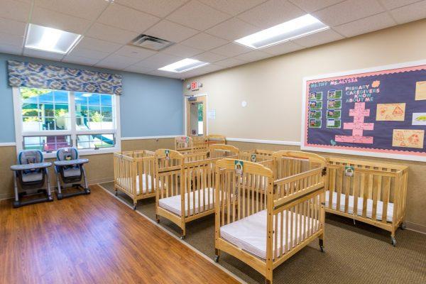 infant room at Lightbridge Academy Day Care in East Brunswick, NJ