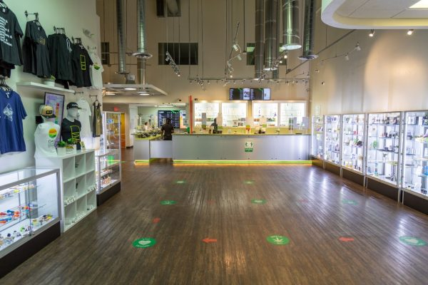 interior of Oasis Cannabis Dispensary & Delivery in Las Vegas, NV