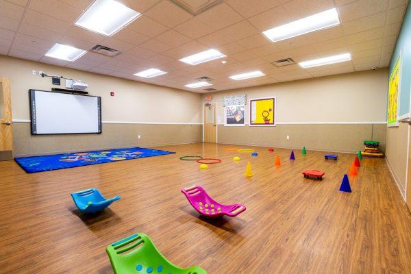 multi-purpose room at Lightbridge Academy Day Care in East Brunswick, NJ