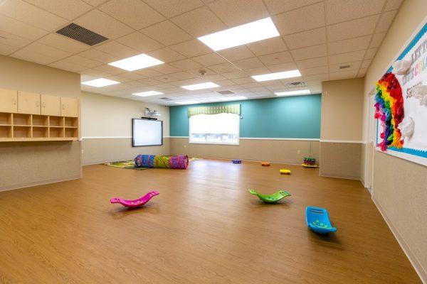 multi-purpose room in Lightbridge Academy Day Care in Shrewsbury, NJ