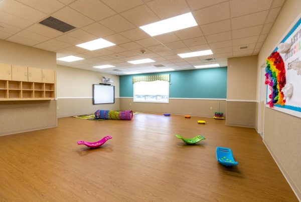 multi-purpose room in Lightbridge Academy Day Care in Shrewsbury, NJ
