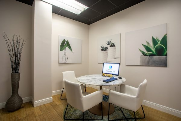 office at Crist Chiropractic in Franklin, TN