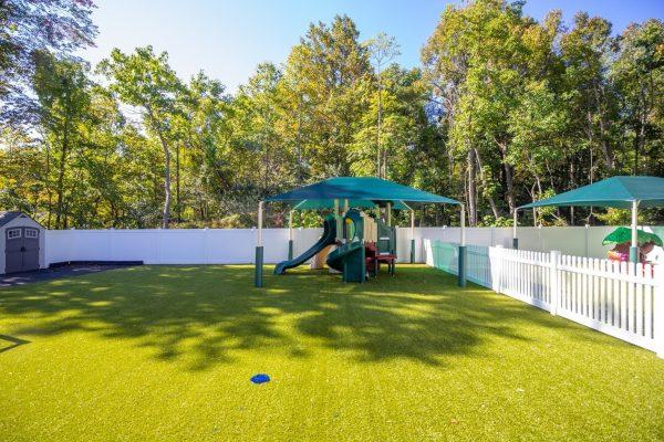 playground at Lightbridge Academy Day Care in South Brunswick, NJ