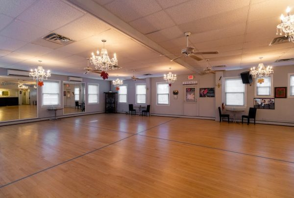 Arthur Murray Dance Studio ballroom in Chatham NJ