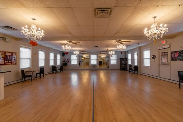 ballroom of Arthur Murray Dance Studio in Chatham NJ