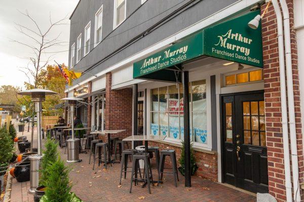 storefront of Arthur Murray Dance Studio in Chatham NJ
