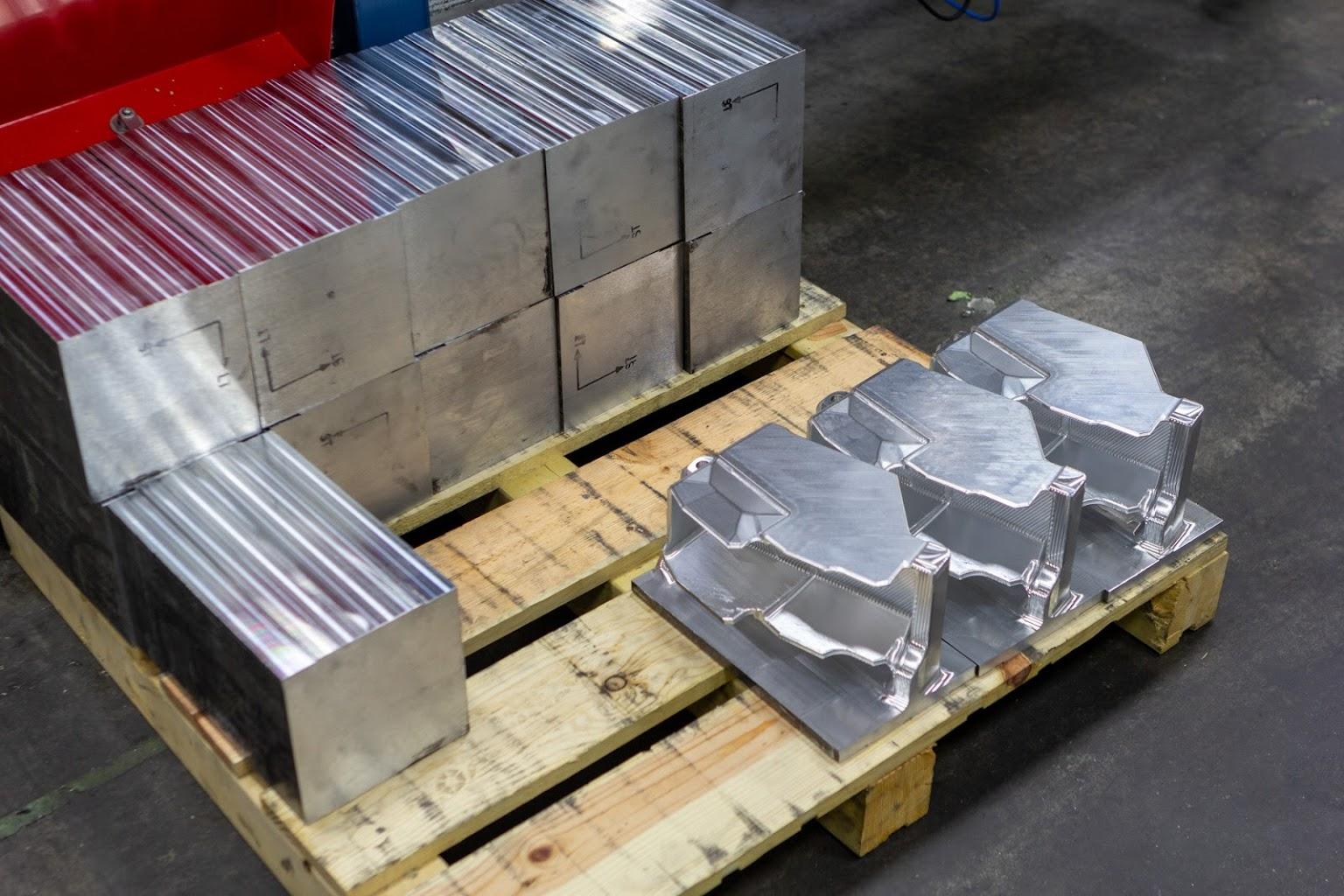 machined metal blocksSummit Aviation Parts Manufacturer in Kernersville, NC