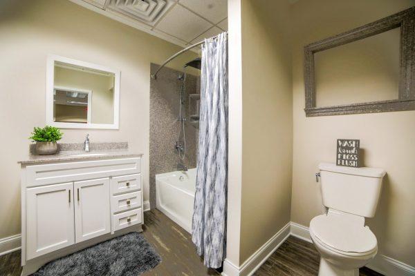 restroom model Chapman Custom Baths Bathroom remodeler in Brownsburg, IN