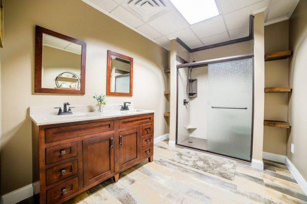 shower Chapman Custom Baths Bathroom remodeler in Brownsburg, IN
