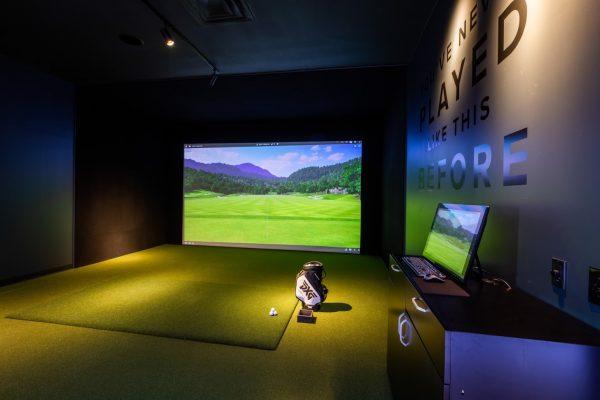 virtual golf driving simulator Parsons Xtreme Golf store PXG Westgate in Edina, MN