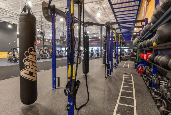 hiit zone Crunch Fitness Gym in Timonium, MD