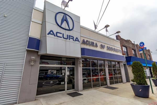 store front Acura of Brooklyn car dealer