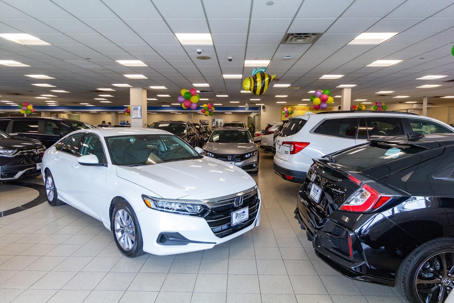 white accord Plaza Honda Car Dealer in Brooklyn, NY