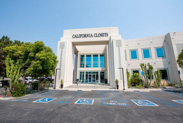 exterior of California Closets 360 Tour of Interior Design in Huntington Beach, CA